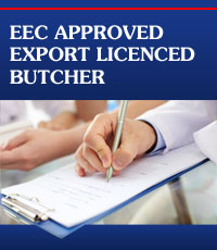 EEC Approved Butcher in Ayrshire